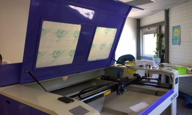 La Graaande Laser : le montage est en cours !