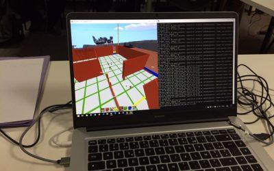 Nous construisons en 3D la maquette du fablab LABSud !