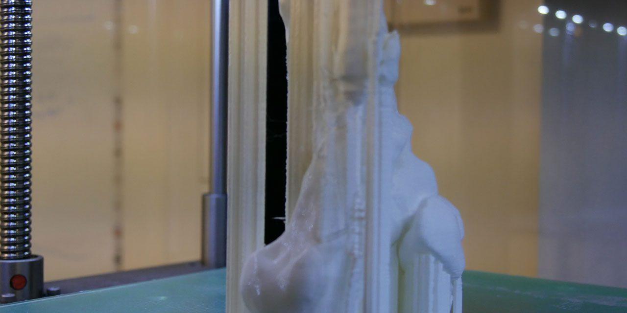 Nous imprimons des squelettes de pieds en 3D ! 1/2