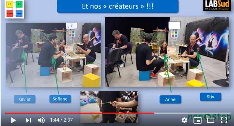 Le « Jeu sans nom », invité à la Gamers Assembly…